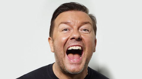 Top 10 Ricky Gervais Performances