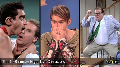 Top 10 Saturday Night Live Characters