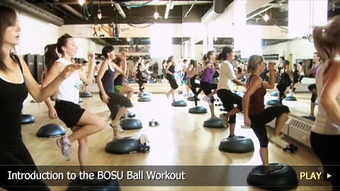 Introduction To The BOSU Ball Workout