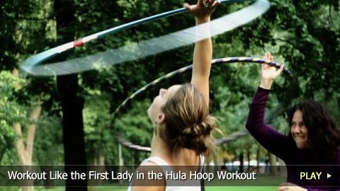 Workout Like the First Lady in the Hula Hoop Workout