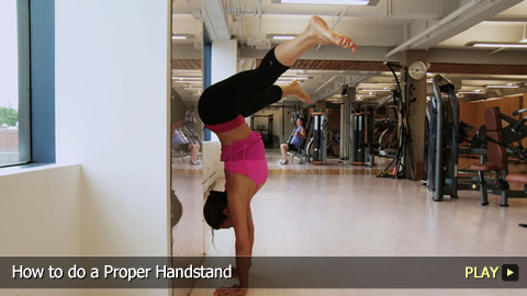 How to do a Proper Handstand