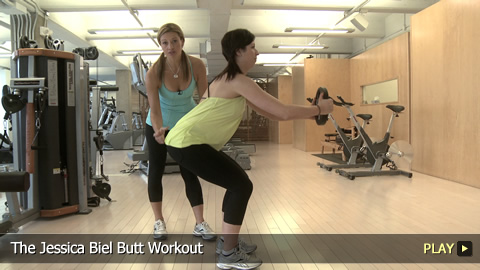 Jessica Biel Butt Exercises 67
