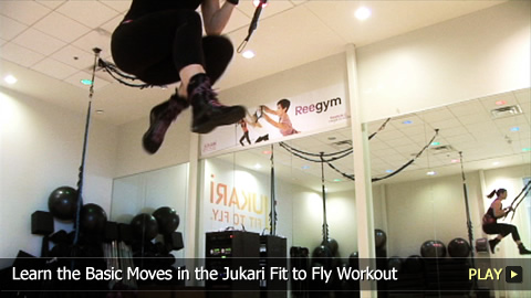 Learn the Basic Moves in the Jukari Fit to Fly Workout