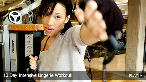 10 Day Intensive Lingerie Workout