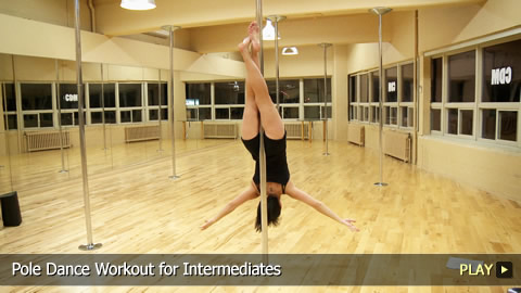 Pole Dance Workout for Intermediates
