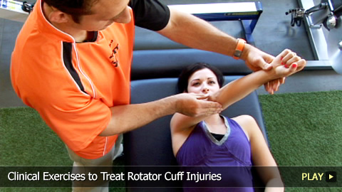 Clinical Exercises to Treat Rotator Cuff Injuries