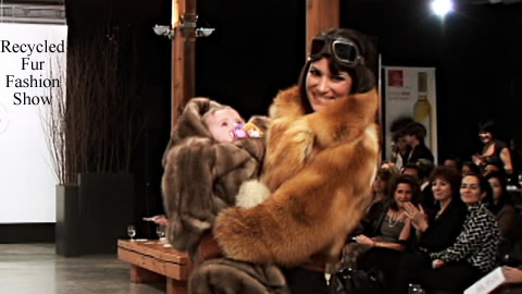 Recycled Fur Fashion Show