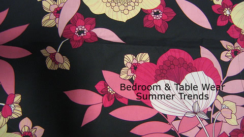 Bedroom & Table Wear Summer Trends