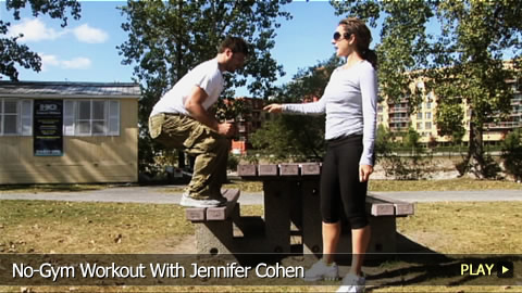 No-Gym Workout With Jennifer Cohen