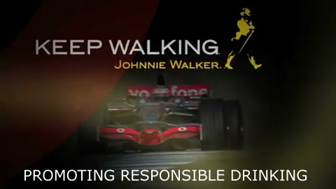 F1: Johnnie Walker's Responsible Drinking Initiative