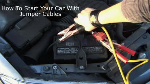 How To Jumpstart A Car Youtube