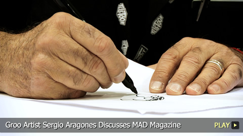 Groo Artist Sergio Aragones Discusses MAD Magazine