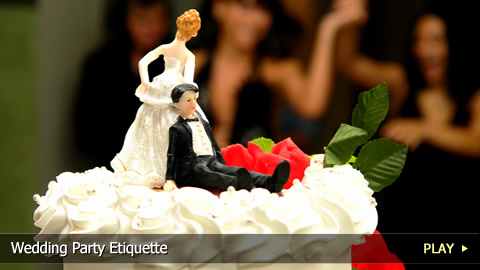 Wedding Party Etiquette