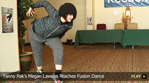 Fanny Pak's Megan Lawson Teaches Fusion Dance