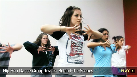 Hip Hop Dance Group Irratik: Behind-the-Scenes
