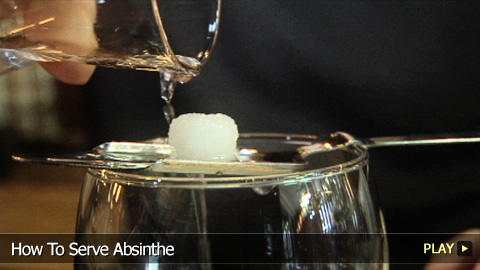 How To Serve Absinthe