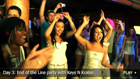 Day 3: End of the Line Party With Keys N Krates