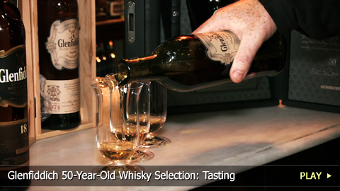 Glenfiddich 50-Year-Old Whisky Selection: Tasting