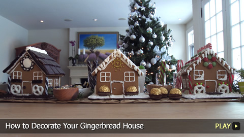 How to Decorate Your Gingerbread House