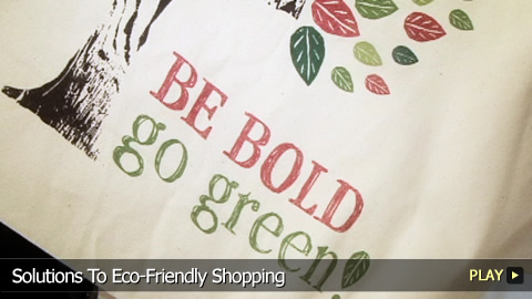 Solutions To Eco-Friendly Shopping