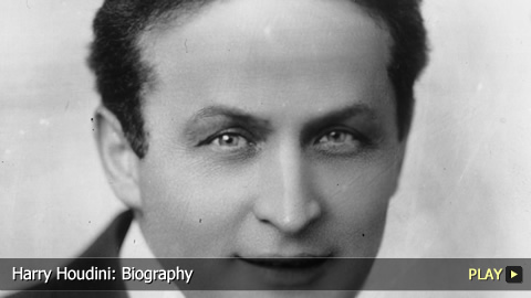 Harry Houdini: Biography