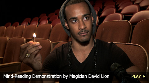 Mind-Reading Demonstration by Magician David Lion