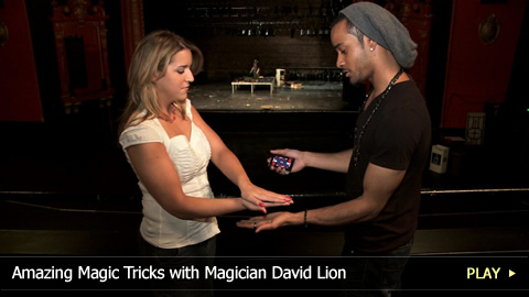 Amazing Magic Tricks with Magician David Lion