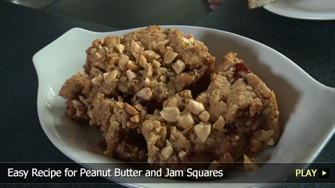 Peanut butter square recipes