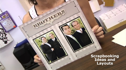 How To Create a Scrapbook Page Layout