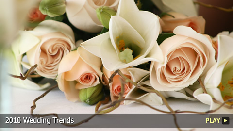 2010 Wedding Trends