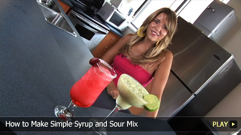 How To Make Simple Syrup and Sour Mix