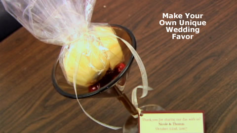 How to Create Your Own Wedding Favors