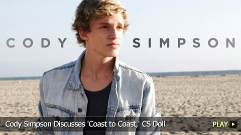 Cody Simpson Discusses 'Coast to Coast,' CS Doll