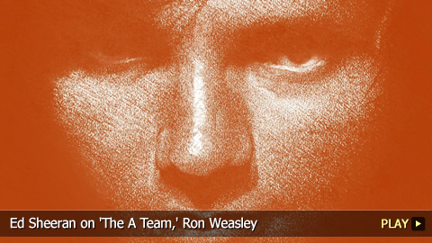 Ed Sheeran on 'The A Team,' Ron Weasley