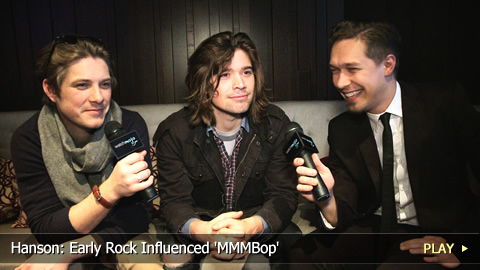 Hanson: Early Rock Influenced 'MMMBop'