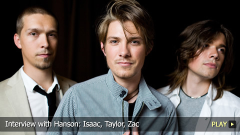 Interview with Hanson: Isaac, Taylor, Zac