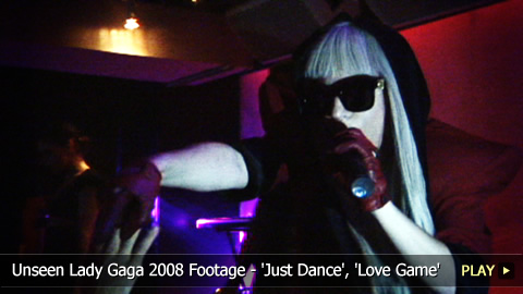 Unseen Lady Gaga 2008 Footage - 'Just Dance', 'Love Game'