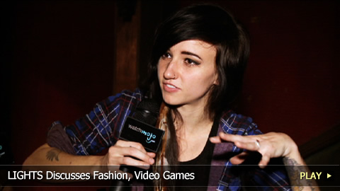 LIGHTS Discusses Fashion, Video Games