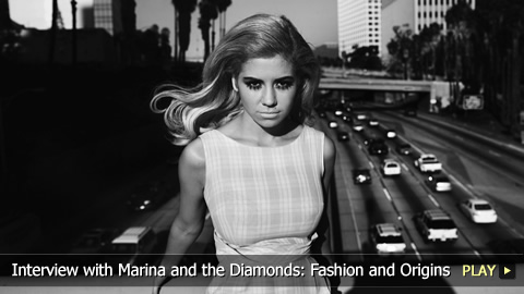 Interview with Marina and the Diamonds: Fashion, Origins, Synesthesia