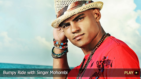 Bumpy Ride with Singer Mohombi