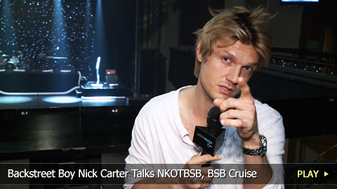 Backstreet Boy Nick Carter Talks NKOTBSB, BSB Cruise