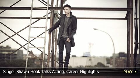 Singer Shawn Hook Talks Acting, Career Highlights