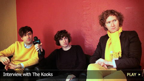 Interview with The Kooks