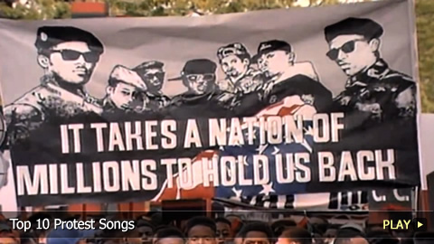 Top 10 Protest Songs | WatchMojo com