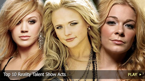 Top 10 Reality Talent Show Acts