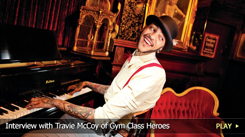 Interview with Travie McCoy of Gym Class Heroes