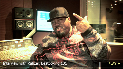 Interview with Rahzel: Beatboxing 101