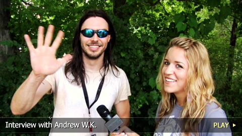 Interview with Andrew W.K.