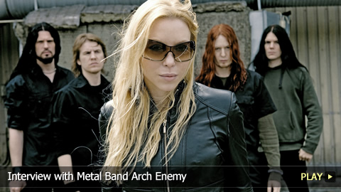 Interview with Metal Band Arch Enemy
