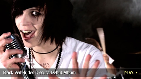 Black Veil Brides Discuss Debut Album hosted by Ricky Tucci